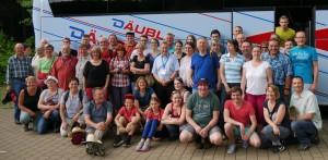 Gruppenfoto Dresden mod